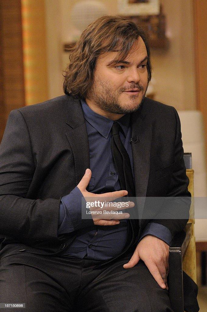 MICHAEL -11/26/12 - Actor Jack Black stops by the newly-rechristened syndicated talk show, LIVE with Kelly and Michael,' distributed by Disney-ABC Domestic Television. JACK