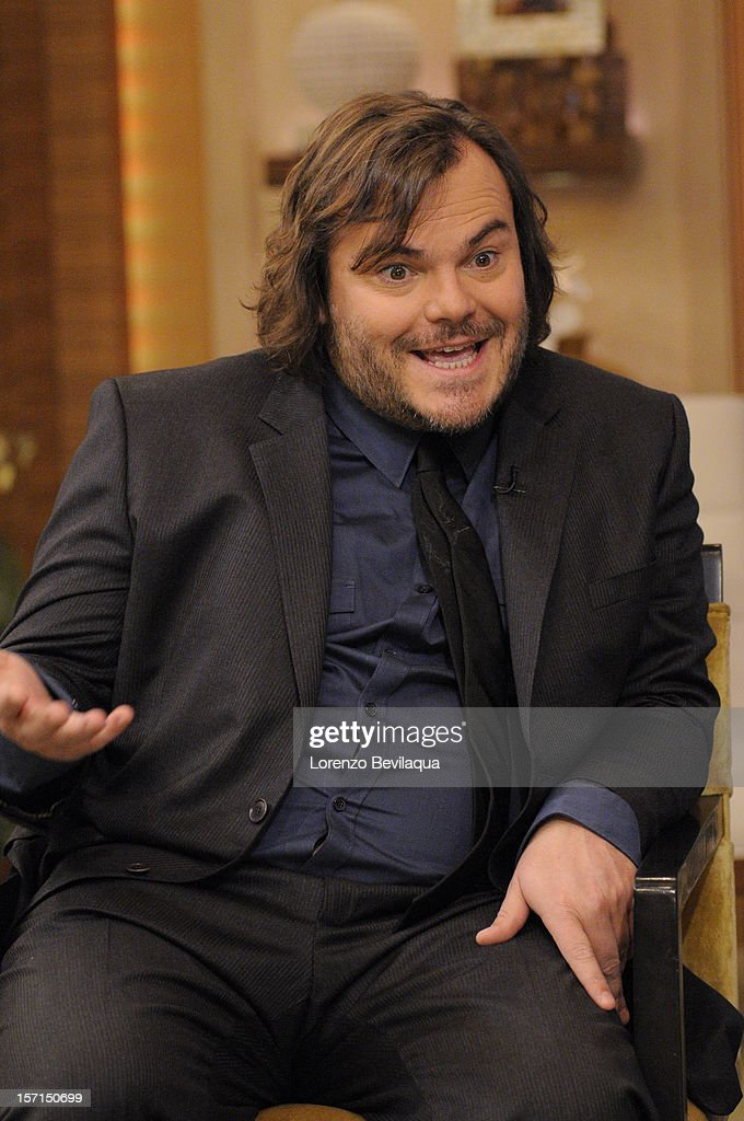 MICHAEL -11/26/12 - Actor Jack Black stops by the newly-rechristened syndicated talk show, LIVE with Kelly and Michael,' distributed by Disney-ABC Domestic Television. BLACK