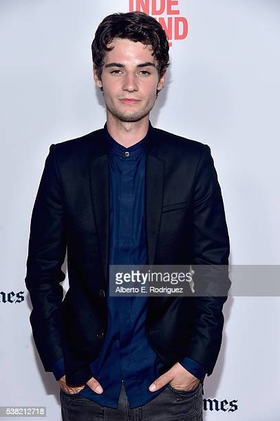 Actor Jack Brett Anderson attends the premieres of 'Don't Hang Up' and SBF 'Night Stalker' during the 2016 Los Angeles Film Festival at Arclight...