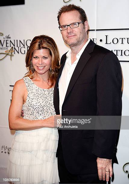 Actor Jack Coleman his guest arrive at 'An Evening With Angels' presented by the Elevate Hope Foundation at Boulevard3 on July 25 2010 in Hollywood...