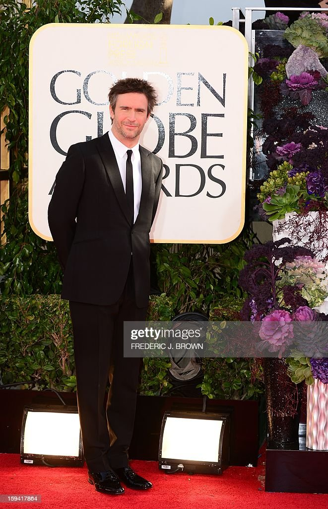 Actor Jack Davenport arrives at the Golden Globes awards ceremony in Beverly Hills on January 13, 2013. AFP PHOTO / Frederic J. BROWN