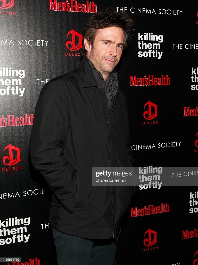 Actor Jack Davenport attends a screening of The Weinstein Company's 'Killing Them Softly' hosted by The Cinema Society with Men's Health and DeLeon Tequila at SVA Theatre on November 26, 2012 in New York City.