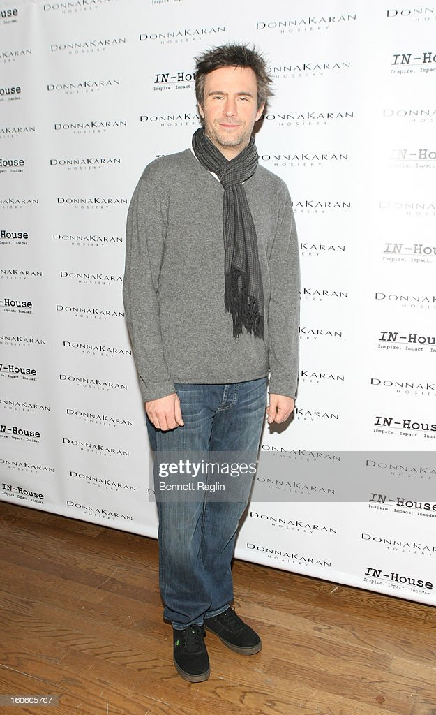 Actor Jack Davenport attends 'Haven't We Met Before?' New York Premiere at 711 Greenwich Street on February 3, 2013 in New York City.