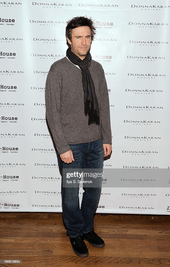 Actor Jack Davenport attends 'Haven't We Met Before' New York Premiere at 711 Greenwich Street on February 3 2013 in New York City