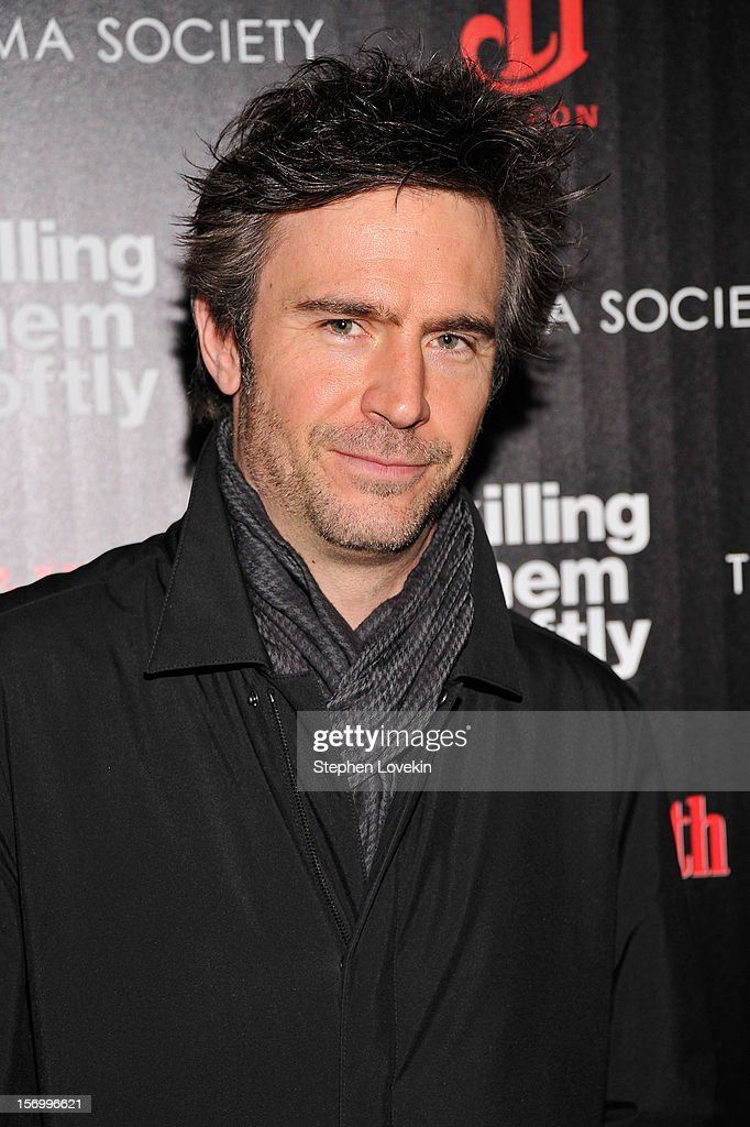 Actor Jack Davenport attends The Cinema Society with Men's Health and DeLeon hosted screening of The Weinstein Company's 'Killing Them Softly' on November 26, 2012 in New York City.