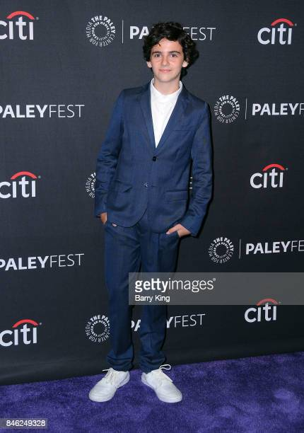 Actor Jack Dylan Grazer attends The Paley Center For Media's 11th Annual PaleyFest Fall TV Previews Los Angeles at The Paley Center for Media on...