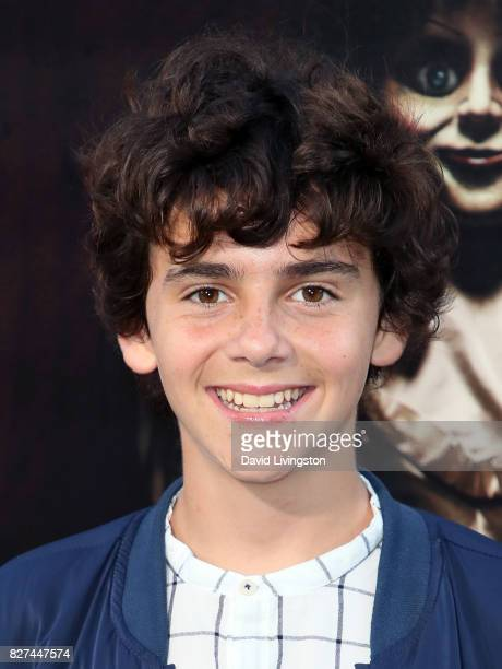 Actor Jack Dylan Grazer attends the premiere of New Line Cinema's 'Annabelle Creation' at TCL Chinese Theatre on August 7 2017 in Hollywood California