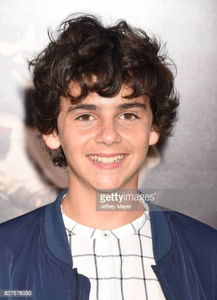 Actor Jack Dylan Grazer attends the premiere of New Line Cinema's 'Annabelle Creation' at TCL Chinese Theatre IMAX on August 07 2017 in Los Angeles...