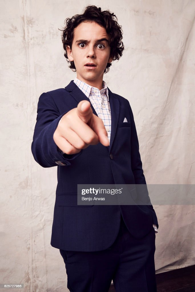 Actor Jack Dylan Grazer of CBS's ''Me, Myself, & I'' poses for a portrait during the 2017 Summer Television Critics Association Press Tour at The Beverly Hilton Hotel on August 1, 2017 in Beverly Hills, California.