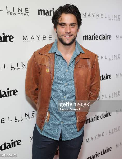 Actor Jack Falahee attends Marie Claire's 'Fresh Faces' celebration with an event sponsored by Maybelline at Doheny Room on April 21 2017 in West...