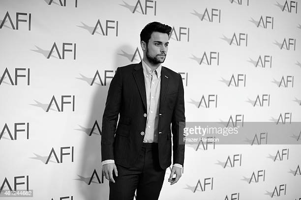 Actor Jack Falahee attends the 15th Annual AFI Awards at Four Seasons Hotel Los Angeles at Beverly Hills on January 9 2015 in Beverly Hills California