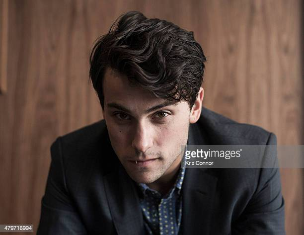 Actor Jack Falahee is photographed for The Wrap on June 6 2015 in Richmond Virginia Published Image