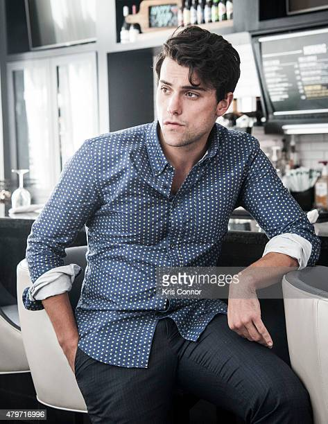 Actor Jack Falahee is photographed for The Wrap on June 6 2015 in Richmond Virginia