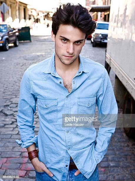 Actor Jack Falahee photographed for Self Assignment in September 2014 in New York City
