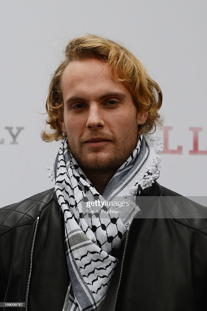 Actor Jack Fox attends the 'BALLY Celebrates 60 Years of Conquering Everest' at Bedford Square Gardens on January 7, 2013 in London, England.