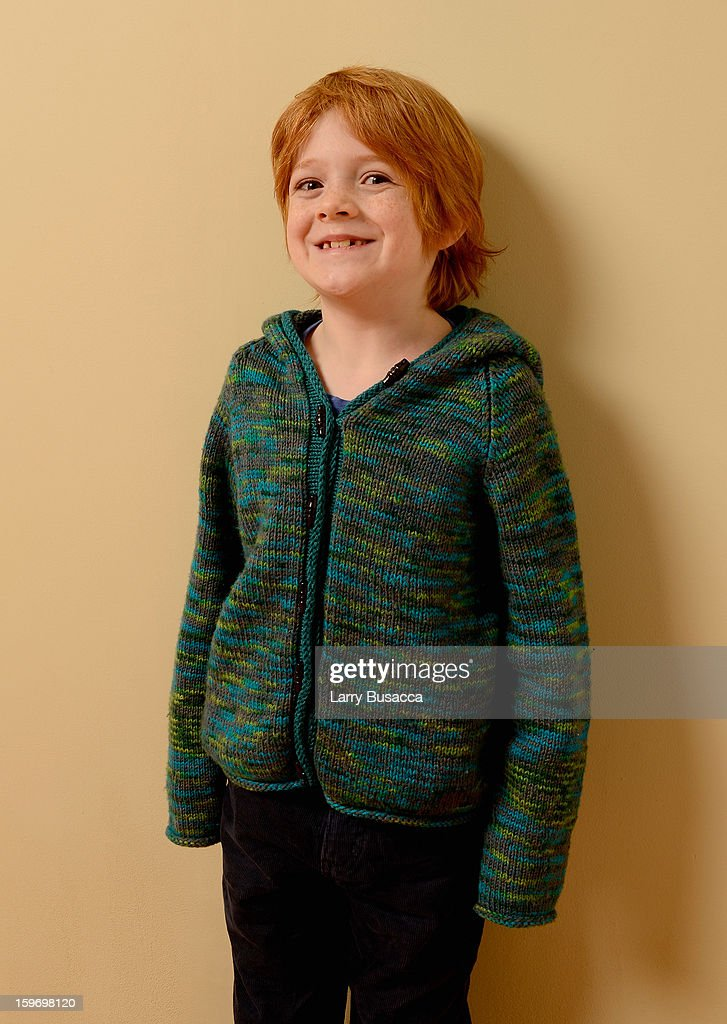 Actor Jack Gore poses for a portrait during the 2013 Sundance Film Festival at the Getty Images Portrait Studio at Village at the Lift on January 18, 2013 in Park City, Utah.