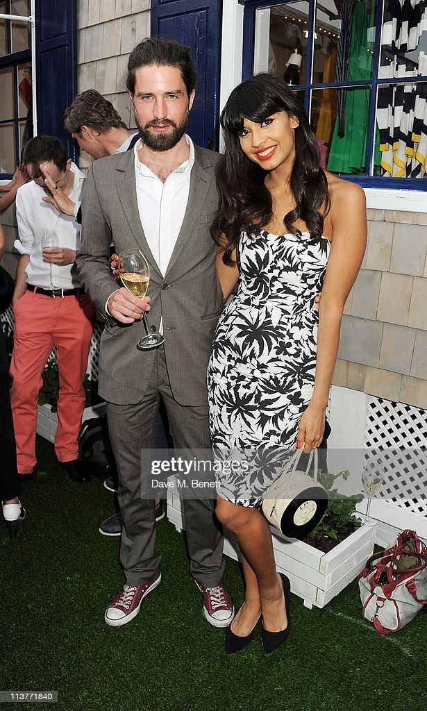 Actor Jack Guinness (L) and Jameela Jamil attend the launch of the new Tommy Hilfiger pop up shop at Tommy Hilfiger 'Prep World' Covent Garden on May 5, 2011 in London, England.