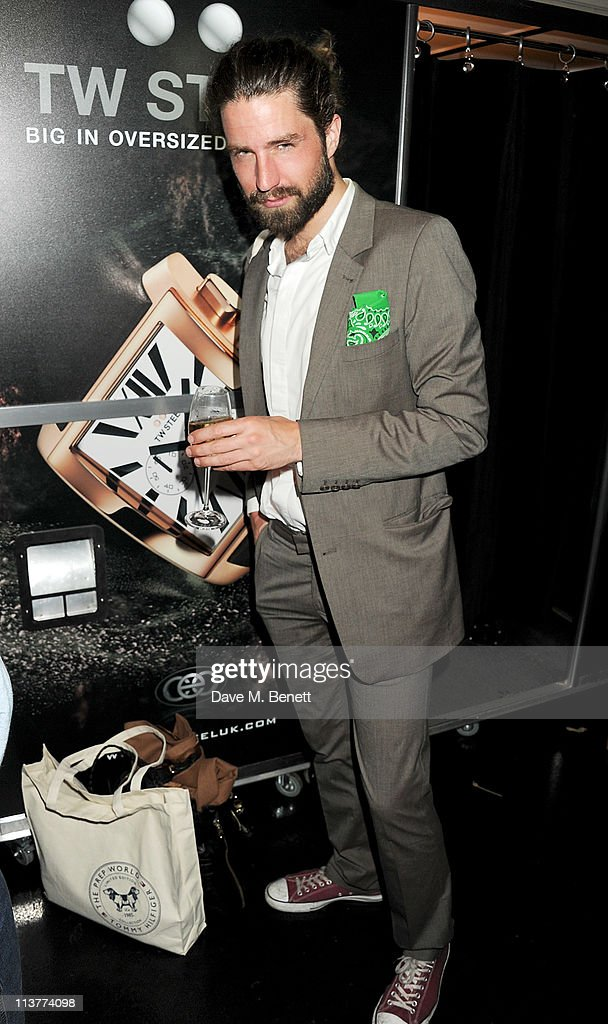 Actor Jack Guinness attends the launch of Esquire Magazine's June issue hosted by the magazine's new editor Alex Bilmes and singer Lily Allen on May 5, 2011 in London, England.