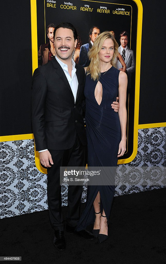 Actor <a gi-track='captionPersonalityLinkClicked' href=/galleries/search?phrase=Jack+Huston&family=editorial&specificpeople=839493 ng-click='$event.stopPropagation()'>Jack Huston</a> and model <a gi-track='captionPersonalityLinkClicked' href=/galleries/search?phrase=Shannan+Click&family=editorial&specificpeople=4342080 ng-click='$event.stopPropagation()'>Shannan Click</a> attend the 'American Hustle' screening at Ziegfeld Theater on December 8, 2013 in New York City.