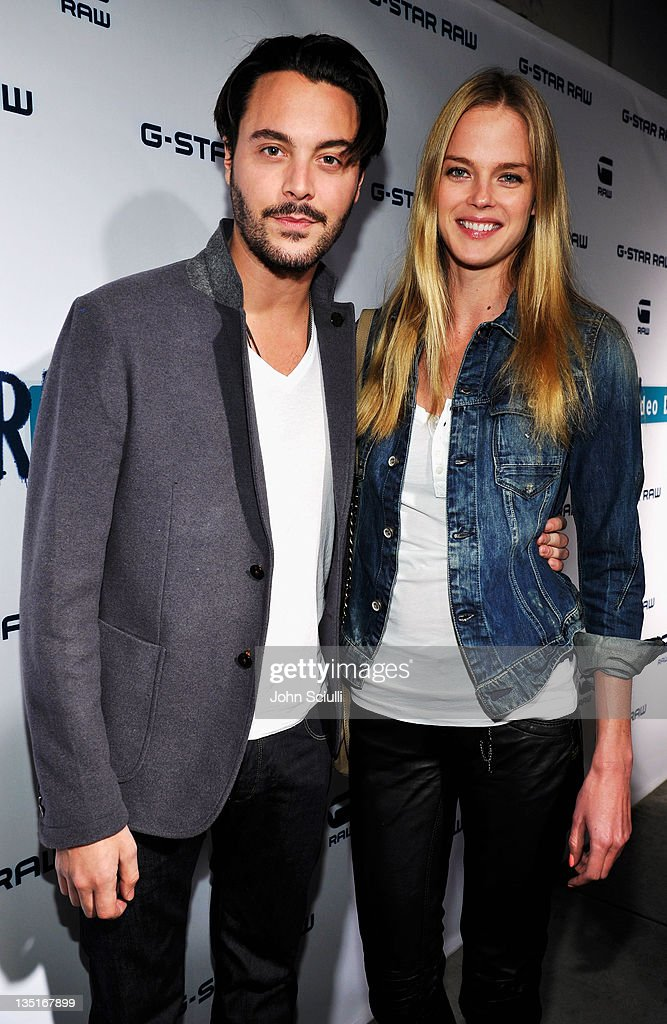 Actor Jack Huston and Shannan Click attend the GStar Rodeo Drive Store Opening on December 6 2011 in Beverly Hills California