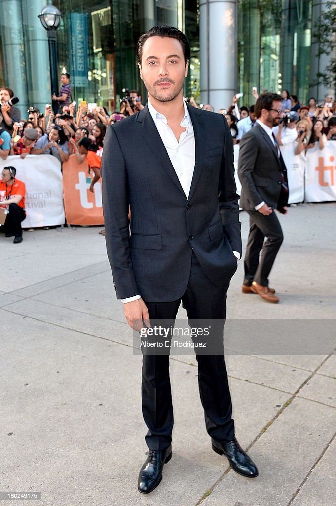 Actor Jack Huston arrives at 'Kill Your Darlings' Premiere during the 2013 Toronto International Film Festival at Roy Thomson Hall on September 10...