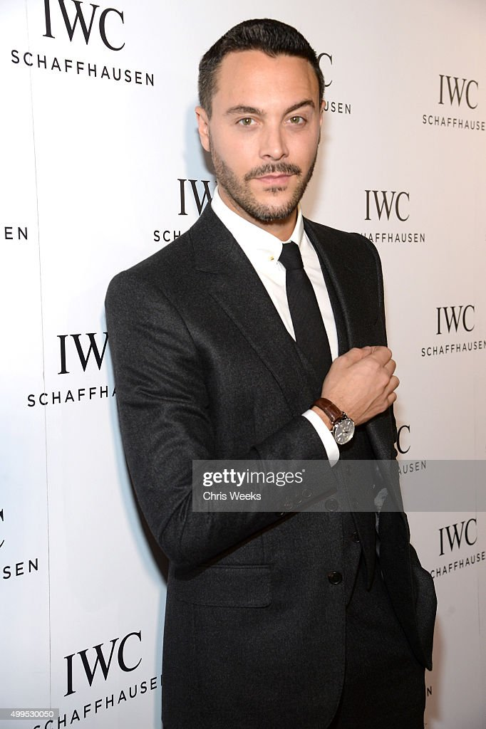 Actor Jack Huston attends IWC Schaffhausen Rodeo Drive Flagship Boutique Opening on December 1 2015 in Beverly Hills California