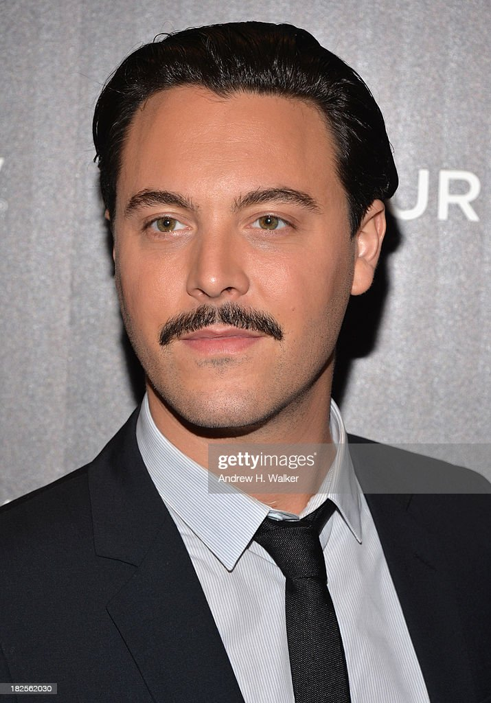Actor Jack Huston attends The Cinema Society and Johnston Murphy screening of Sony Pictures Classics' 'Kill Your Darlings' at Paris Theater on...