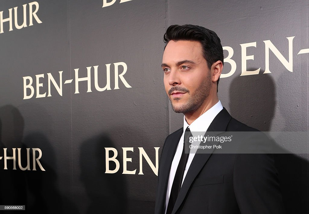"""Actor Jack Huston attends the LA Premiere of the Paramount Pictures and MetroGoldwynMayer Pictures title """"BenHur"""" at the TCL Chinese Theatre IMAX on..."""