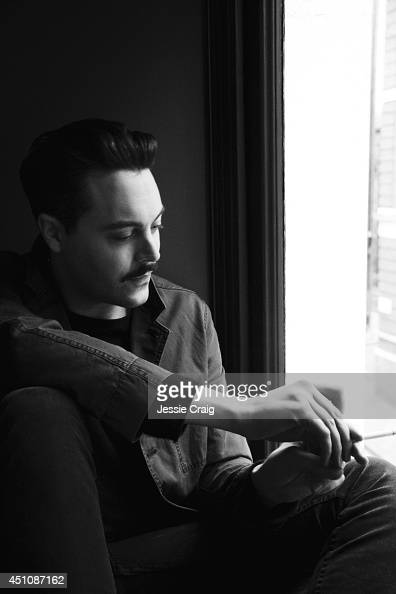 Actor Jack Huston is photographed for Rollacoaster magazine on January 23 2014 in London England