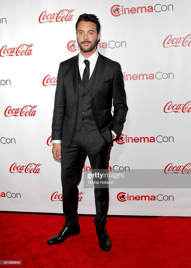 Actor Jack Huston recipient of the Rising Star of the Year Award attends the CinemaCon Big Screen Achievement Awards brought to you by the CocaCola...