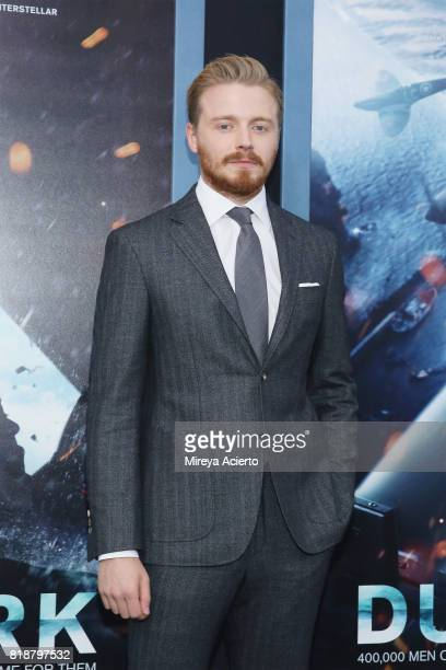 Actor Jack Lowden attends the 'DUNKIRK' New York Premiere on July 18 2017 in New York City
