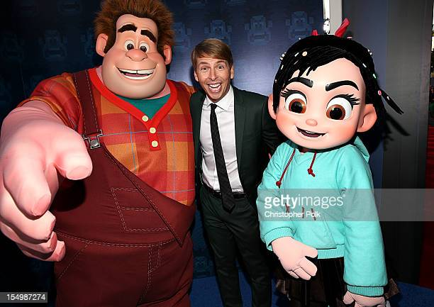 Actor Jack McBrayer at the Premiere Of Walt Disney Animation Studios' 'WreckIt Ralph' Red Carpet at the El Capitan Theatre on October 29 2012 in...