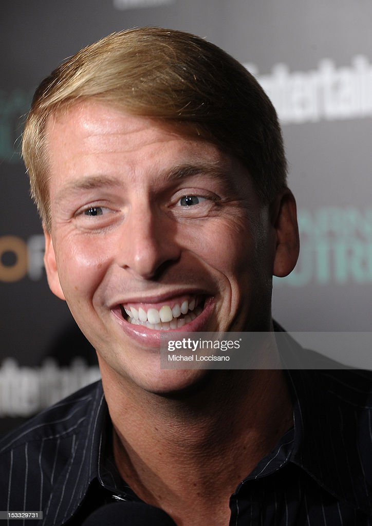 Actor Jack McBrayer attends Entertainment Weekly and NBC's celebration of the final season of 30 Rock sponsored by Garnier Nutrisse on October 3, 2012 in New York City.