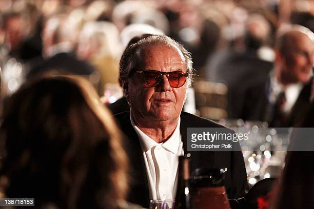 Actor Jack Nicholson attends The 2012 MusiCares Person of The Year Gala Honoring Paul McCartney at Los Angeles Convention Center on February 10 2012...