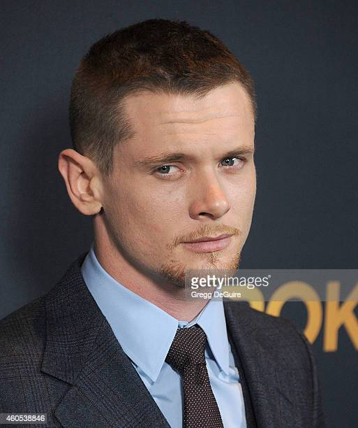 Actor Jack O'Connell arrives at the Los Angeles premiere of 'Unbroken' at The Dolby Theatre on December 15 2014 in Hollywood California