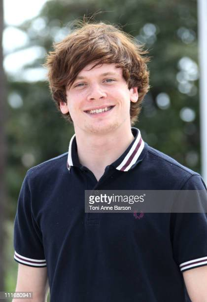 Actor Jack O'Connell attends ' Skins' Photocall at Hotel Majestic on April 5 2011 in Cannes France