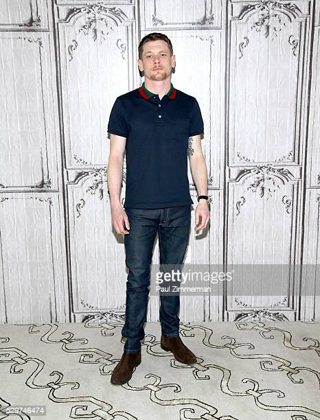 Actor Jack O'Connell attends the AOL Build Speaker Series Jodie Foster and Jack O'Connell 'Money Monster' on May 09 2016 in New York New York