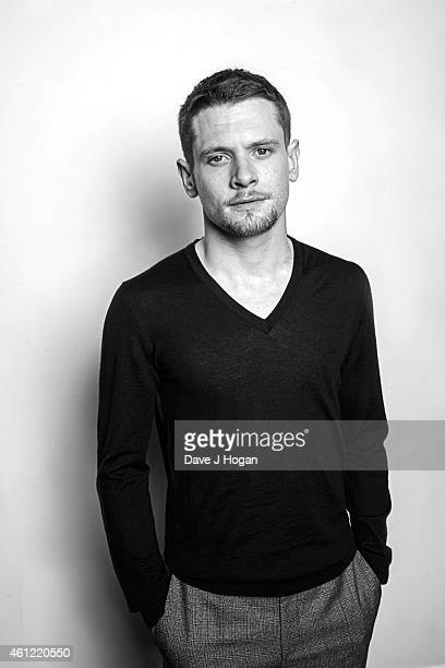 Actor Jack O'Connell poses for a portrait shoot on January 7 2015 in London England