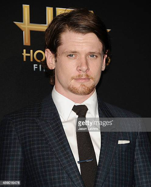 Actor Jack O'Connell poses in the press room at the 18th annual Hollywood Film Awards at Hollywood Palladium on November 14 2014 in Hollywood...