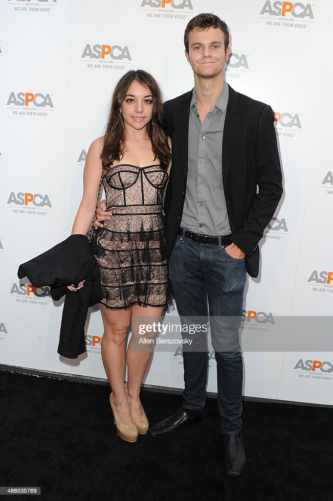 Actor <a gi-track='captionPersonalityLinkClicked' href=/galleries/search?phrase=Jack+Quaid&family=editorial&specificpeople=3056388 ng-click='$event.stopPropagation()'>Jack Quaid</a> and actress Jennifer Blakeslee attend the American Society for the Prevention of Cruelty to Animals celebrity cocktail party on May 6, 2014 in Beverly Hills, California.