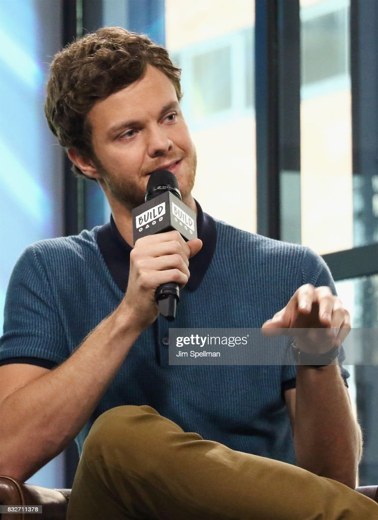 Actor Jack Quaid attends Build to discuss his new film 'Logan Lucky' at Build Studio on August 16, 2017 in New York City.