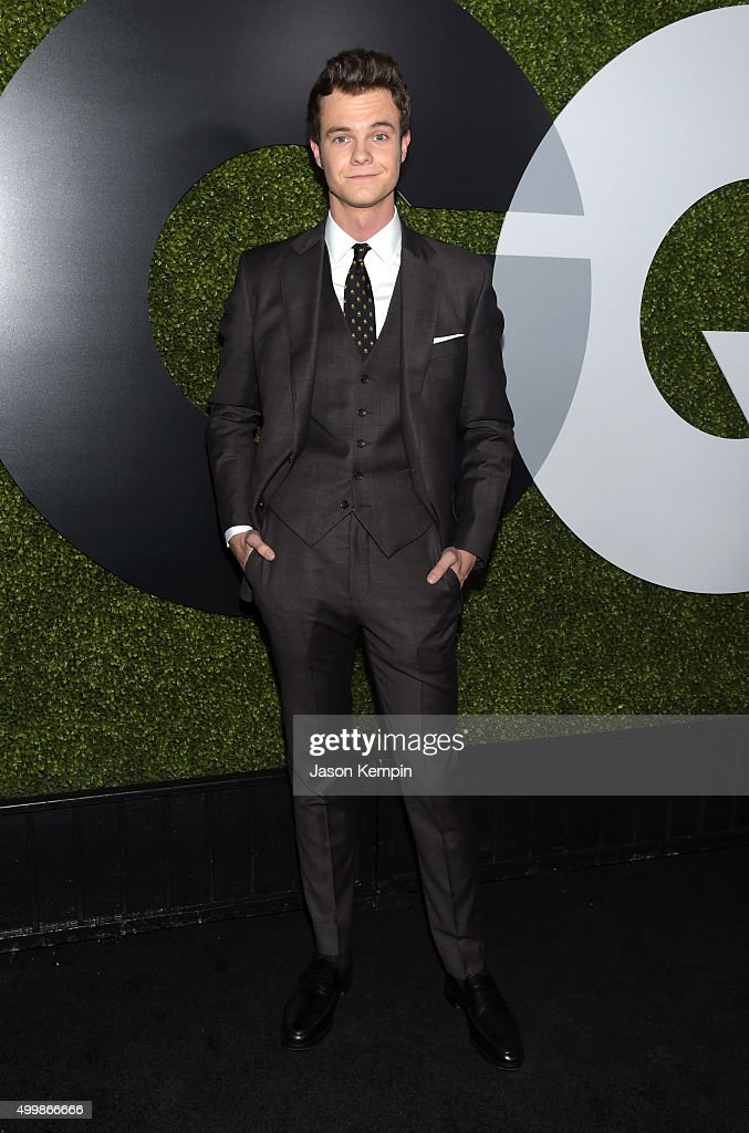 Actor Jack Quaid attends the GQ 20th Anniversary Men Of The Year Party at Chateau Marmont on December 3, 2015 in Los Angeles, California.