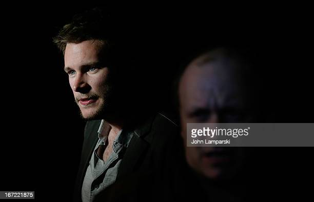 Actor Jack Reynor and director Lenny Abrahamson attend the screening of 'What Richard Did' during the 2013 Tribeca Film Festival at Chelsea Clearview...