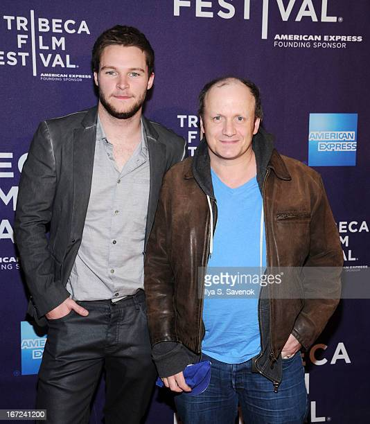 Actor Jack Reynor and director Lenny Abrahamson attend the screening of 'What Richard Did' during the 2013 Tribeca Film Festival at Clearview Chelsea...