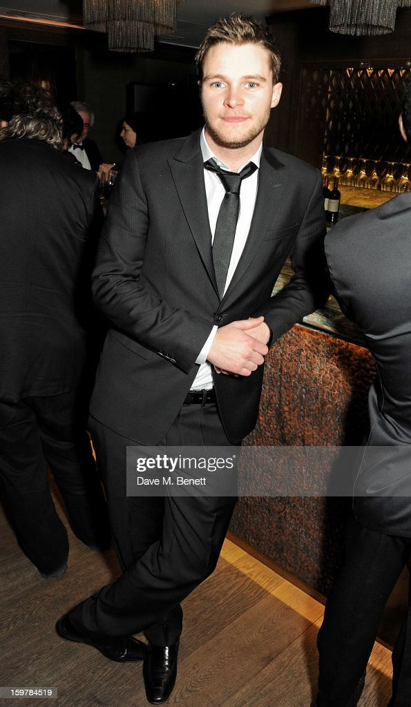 Actor Jack Reynor attends an after party following the London Critics Circle Film Awards at Quince Restaurant, The May Fair Hotel on January 20, 2013 in London, England.