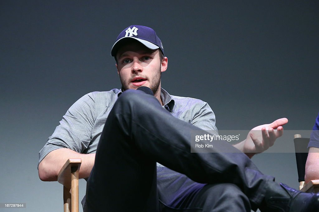 Actor Jack Reynor attends Meet the Filmmaker: 'What Richard Did' during the 2013 Tribeca Film Festival at the Apple Store Soho on April 23, 2013 in New York City.
