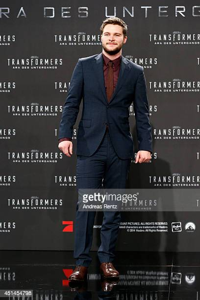 Actor Jack Reynor attends the european premiere of 'Transformers Age of Extinction' at Sony Centre on June 29 2014 in Berlin Germany