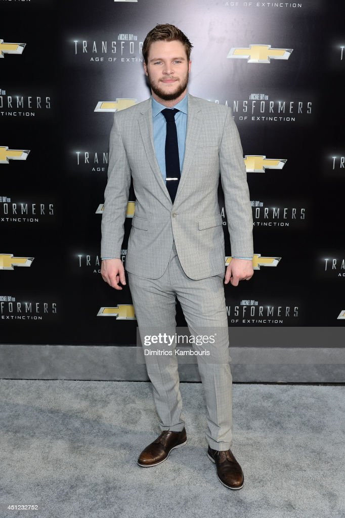 Actor <a gi-track='captionPersonalityLinkClicked' href=/galleries/search?phrase=Jack+Reynor&family=editorial&specificpeople=10130487 ng-click='$event.stopPropagation()'>Jack Reynor</a> attends the New York Premiere of 'Transformers: Age Of Extinction' at the Ziegfeld Theatre on June 25, 2014 in New York City.