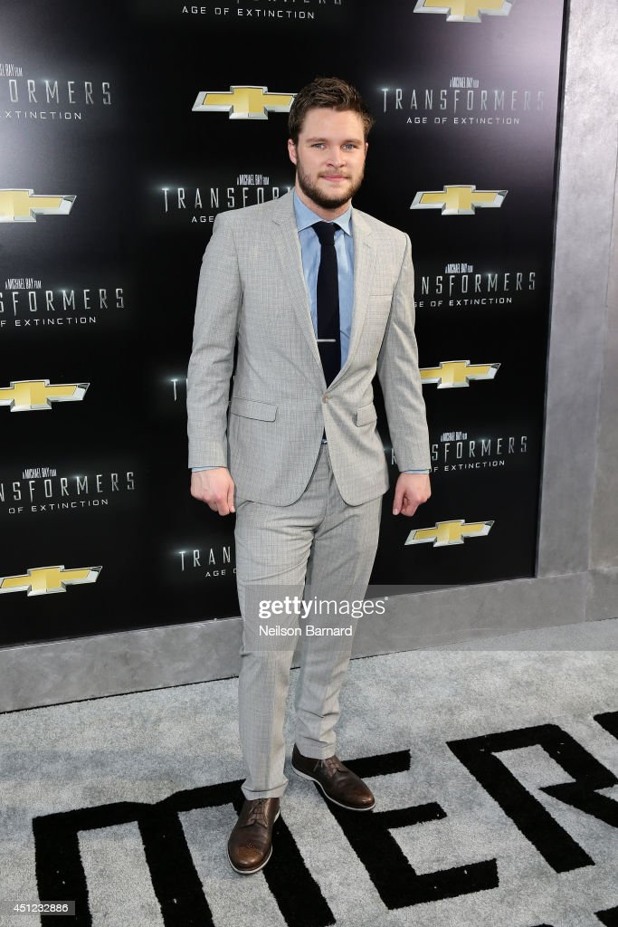Actor Jack Reynor attends the New York Premiere of 'Transformers Age Of Extinction' at the Ziegfeld Theatre on June 25 2014 in New York City