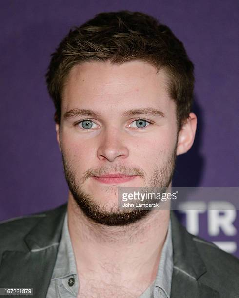Actor Jack Reynor attends the screening of 'What Richard Did' during the 2013 Tribeca Film Festival at Chelsea Clearview Cinemas on April 22 2013 in...